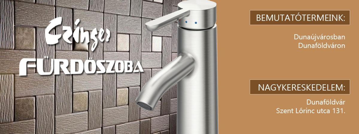 Czinger Fürdőszoba - csempe padlólap fürdőkád